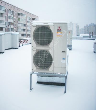 Внешний-блок-Mitsubishi-Electric-Mrslim-Тепловой-насос