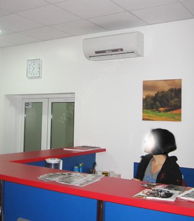 Внутренний настенный блок теплового насоса воздух воздух Zubadan бытовой серии