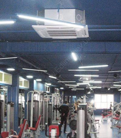 внутренний кассетный блок тепловых насосов Mitsubishi Electric Zubadan