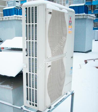 Mitsubishi Electric MR slim Обогрев с помощью теплового насоса ZUBADAN