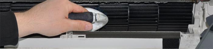 чистый вентилятор кондиционера